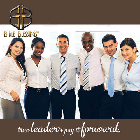 True leaders pay it forward