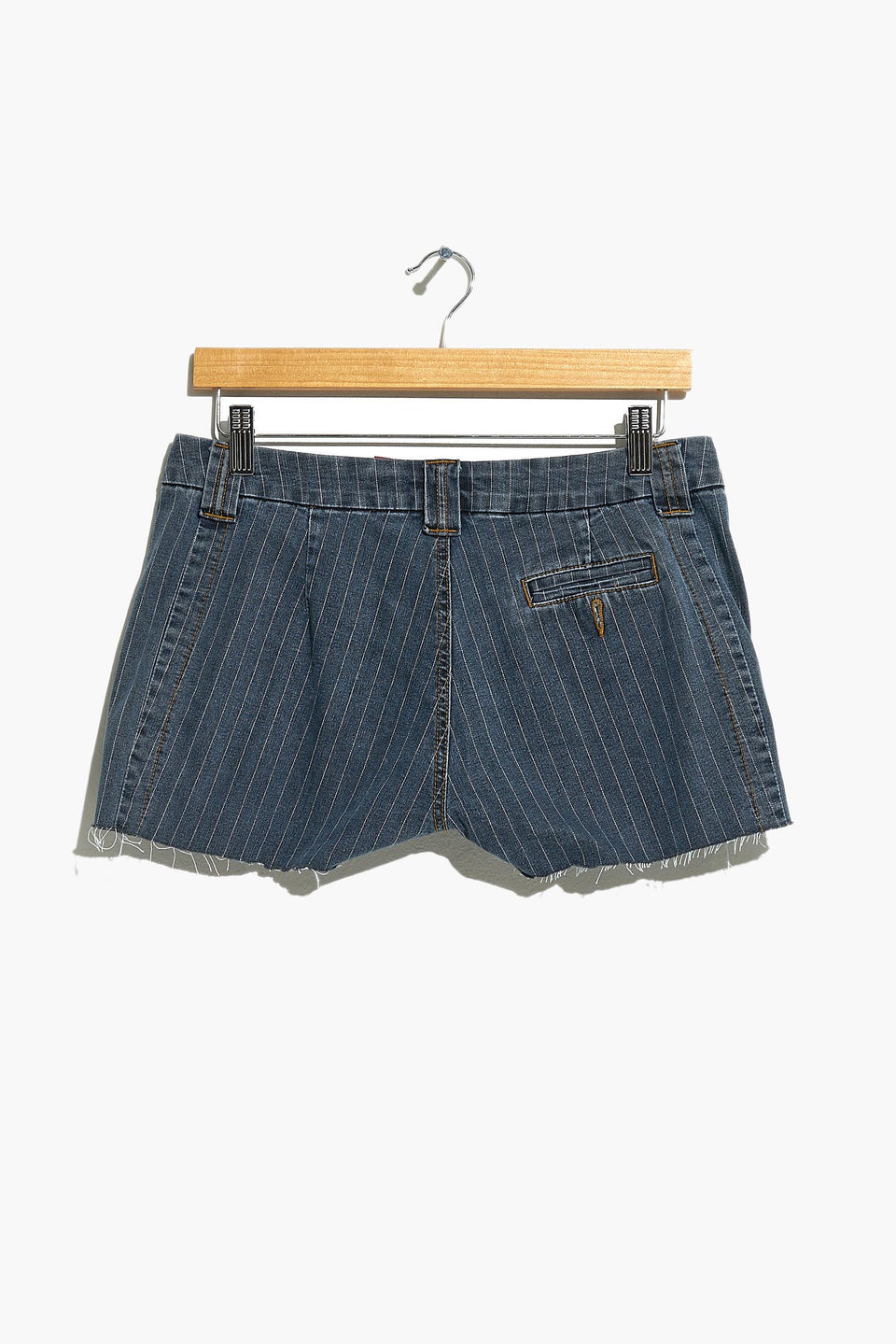 FISHBONE denim shorts