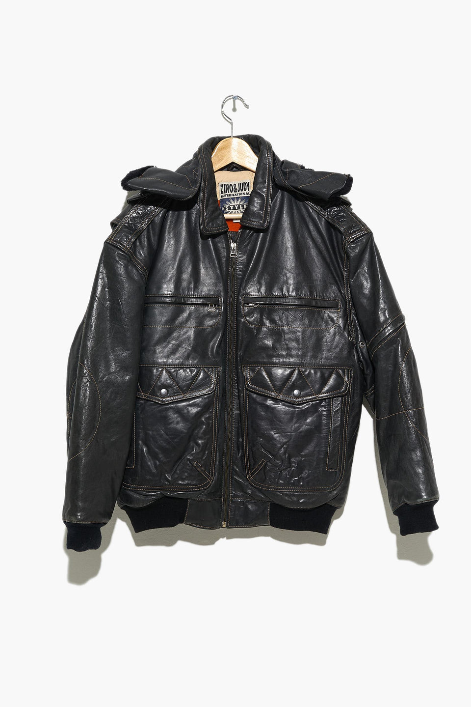 ZINO & JUDY leather jacket