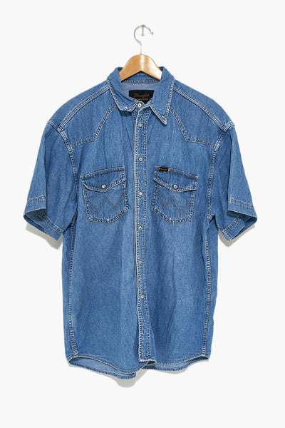 WRANGLER denim shirt - burggasse24