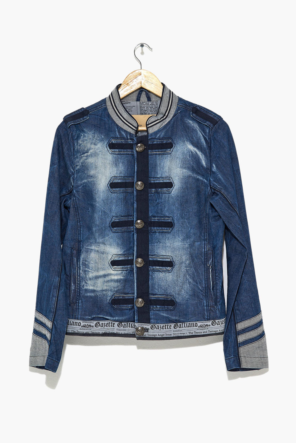 GALLIANO Jeans Jacket