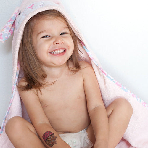 Baby Hooded Bath Towel Beatrice the Bunny - from Kicks to Kids