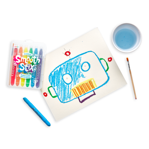 Smooth Stix Watercolor Gel Crayons - from Kicks to Kids
