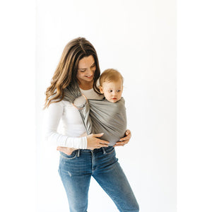 Ring Sling Birch with Black Rings - from Kicks to Kids