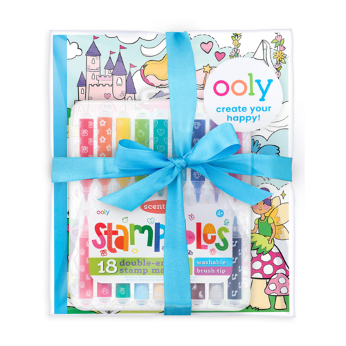 Princesses & Fairies Stampables Coloring Pack - from Kicks to Kids