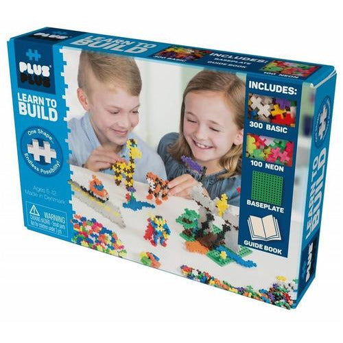 Plus Plus Learn to Build Set - Basic - from Kicks to Kids