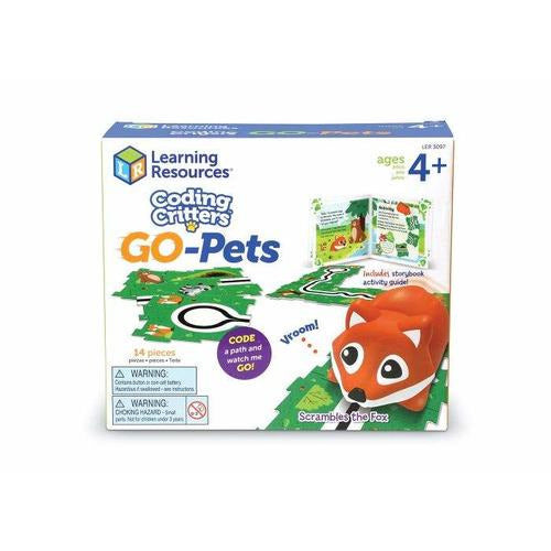 Coding Critter Go-Pets: Scrambles the Fox - from Kicks to Kids