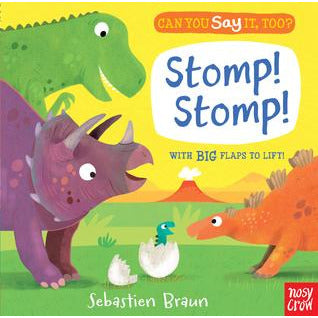 Can you say it too? Stomp! - from Kicks to Kids
