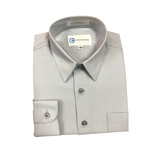 Modern Dress Shirt Silver - from Kicks to Kids