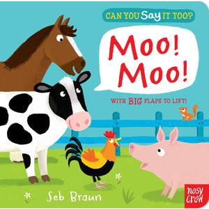 Can you say it too? Moo! - from Kicks to Kids