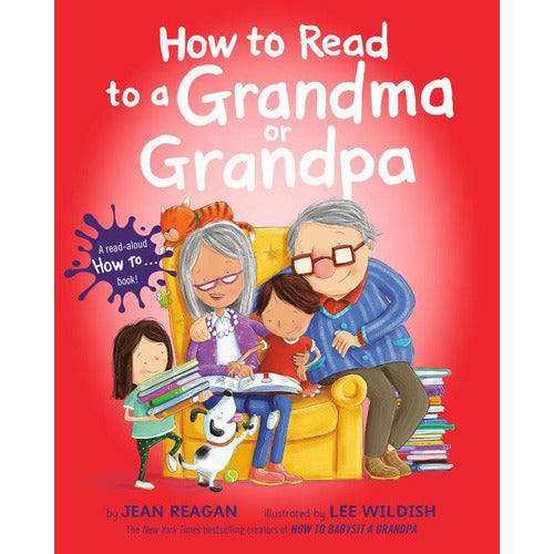 How to Read to a Grandma or Grandpa - from Kicks to Kids