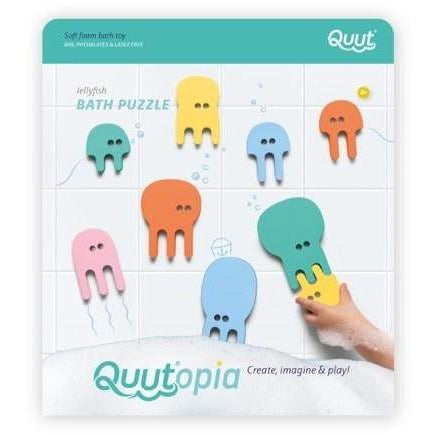 Quutopia Jellyfish Bath Puzzle - from Kicks to Kids