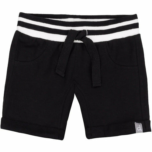 French Terry Short Black - from Kicks to Kids