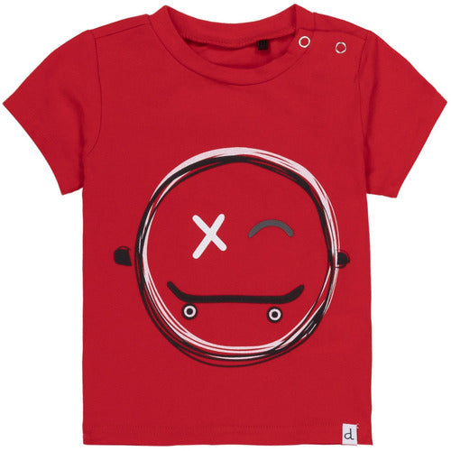 Red Happy Skate Graphic T-Shirt - from Kicks to Kids