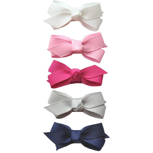 Small Snap Chelsea Bow 5pk - Prep Girl - from Kicks to Kids