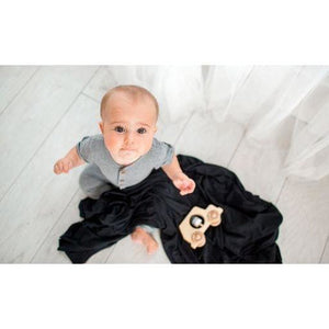 Copper Pearl Swaddle - Midnight