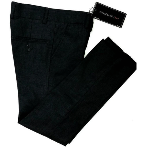 Mavezzano Dress Pants Slim Fit Black - from Kicks to Kids