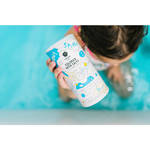 Colored Bath Salts - Blue - from Kicks to Kids