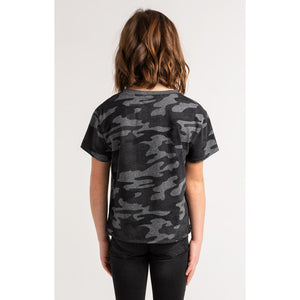 Memphis Camo Crew Black - from Kicks to Kids