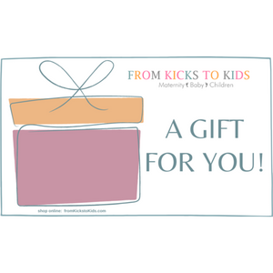 Gift Card - from Kicks to Kids