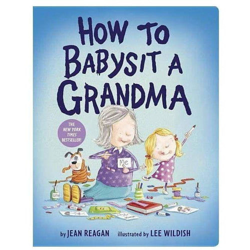 How to Babysit A Grandma Board Book - from Kicks to Kids