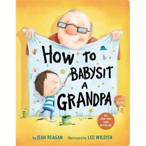 How to Babysit A Grandpa Board Book - from Kicks to Kids