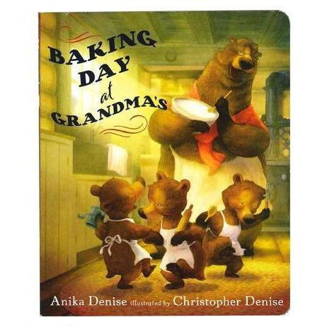 Baking Day At Grandma's Board Book - from Kicks to Kids