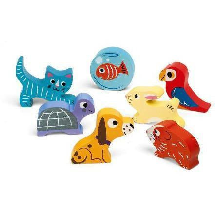 Chunky Puzzle Animals - from Kicks to Kids
