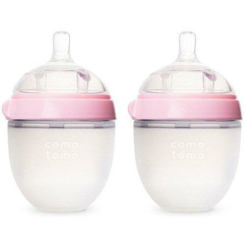 Silicone Baby Bottle 2 Pack - 150ml - from Kicks to Kids
