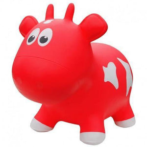 Farm Hopper Jumping Animal - Red Cow