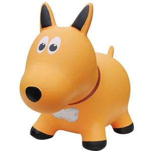 Farm Hopper Jumping Animal - Yellow Dog - from Kicks to Kids