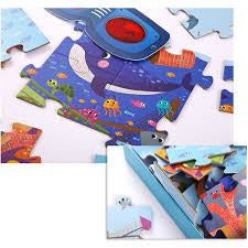 Secret Puzzle - Ocean (35pc) - from Kicks to Kids