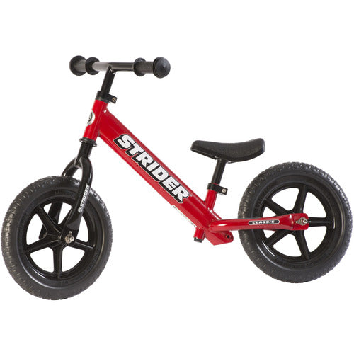 "*Special Order* - Strider 12"" Classic Balance Bike - Red - from Kicks to Kids"