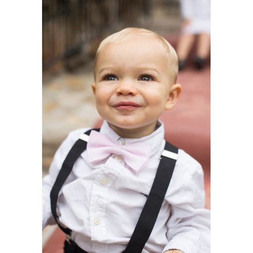 Adjustable Boy's Suspenders Black - from Kicks to Kids
