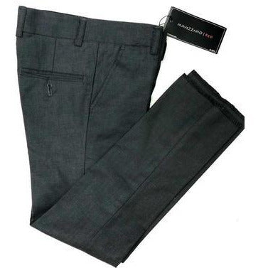 Mavezzano Dress Pants Slim Fit Charcoal - from Kicks to Kids