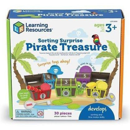 Sorting Surprise Pirate Treasure - from Kicks to Kids