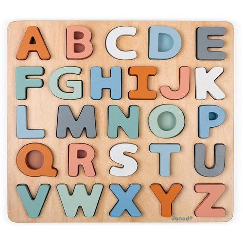 Sweet Cocoon Alphabet Puzzle - from Kicks to Kids