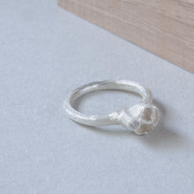 Load image into Gallery viewer, The Bee ring a alternative engagement ring with a diamond.