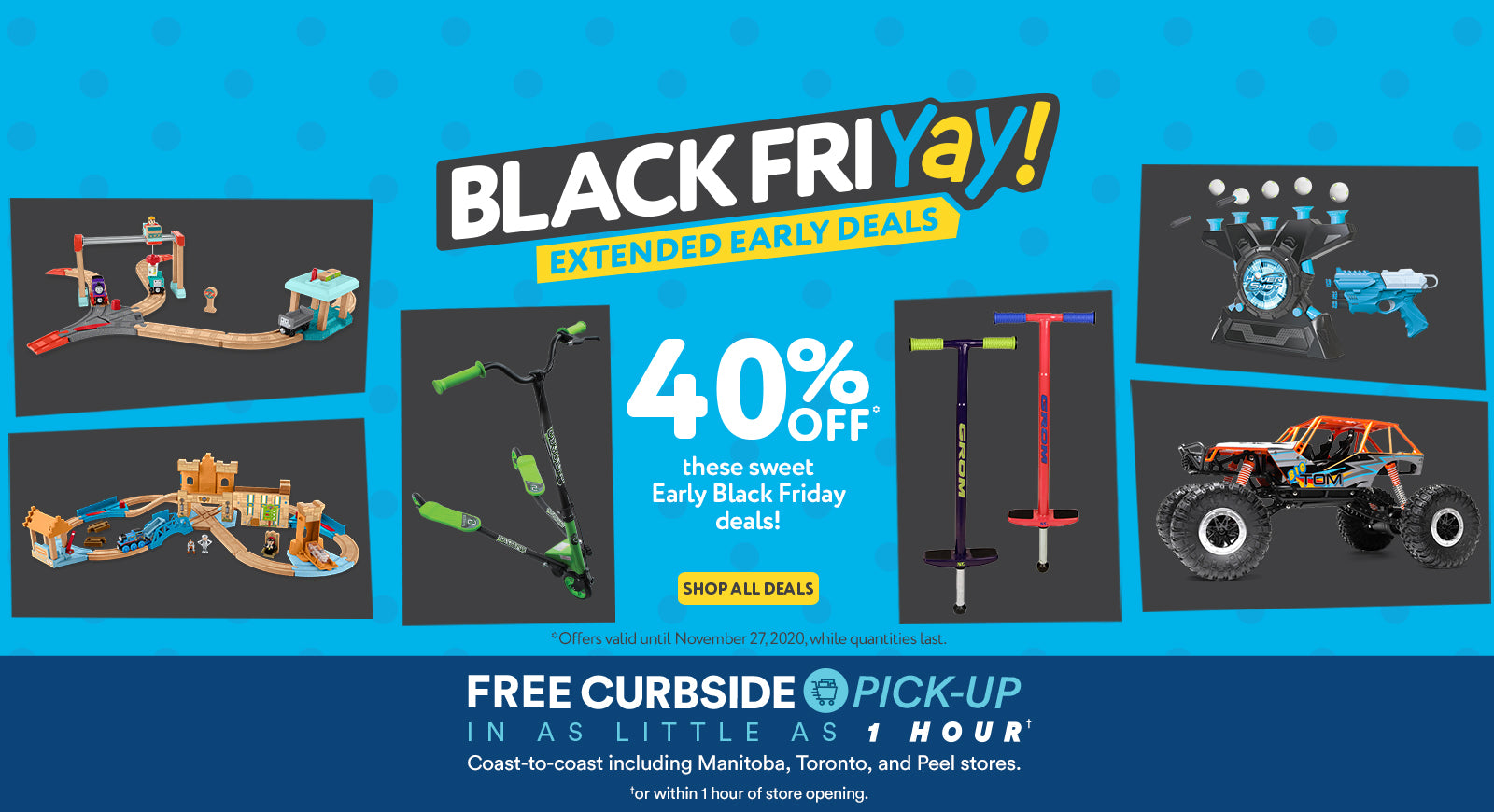 Black Friday Early Deals Extended