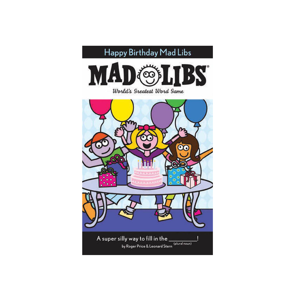 Mad Libs Happy Birthday