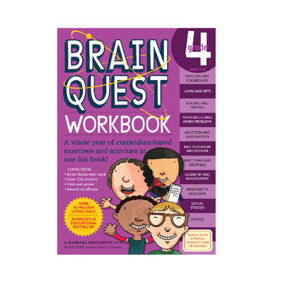 Brain Quest Grade 4 Workbook