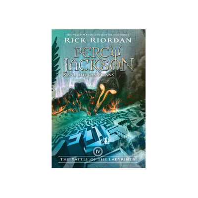 Percy Jackson and the Olympians #4: The Battle of the Labyrinth