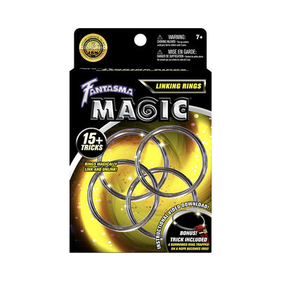 Fantasma Metal Linking Rings Magic Set