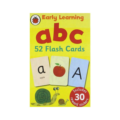 Ladybird Early Learning ABC Flash Cards