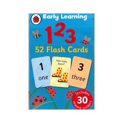 Ladybird Early Learning 123 Flash Cards