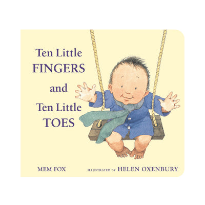 Ten Little Fingers and Ten Little Toes Board Book