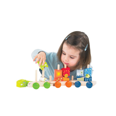 Hape Fantasia Stacking Block Train