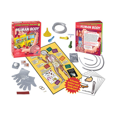 The Magic School Bus: Rides Again: A Journey into the Human Body Science Kit
