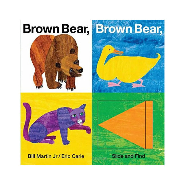 Brown Bear, Brown Bear, What Do You See? Slide and Find Board Book