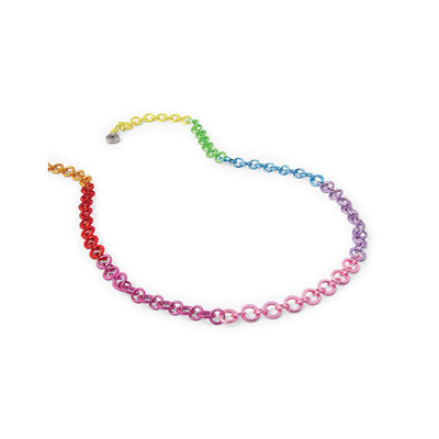 CHARM IT! Rainbow Chain Charm Necklace